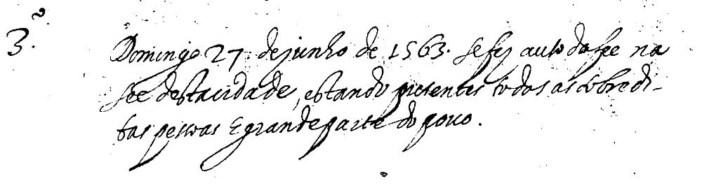 Auto de fe 1563